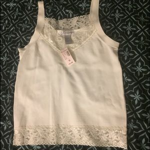 New Dress barn lace tank top size Medium